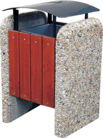 zakázková, atypická výroba betonových košů