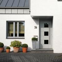 Hliníkové vstupné vchodové dvere, hliníkové okná