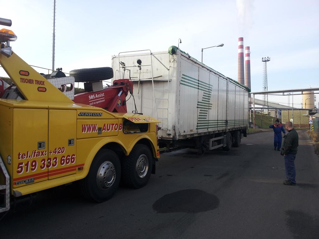 Servis nákladních vozů Břeclav