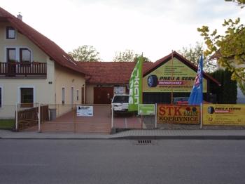 Pneuservis Ostrava, Krmelín