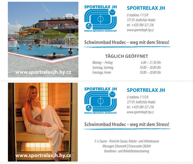 Aquapark, Schwimmbecken, Sauna, Sportplatz