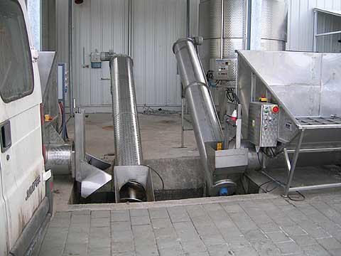 Výrobky z nerezi pro stroje a zařízení