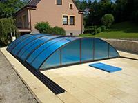 Kvalitní zastřešení bazénu, pergol, přístřešků - prodej a výroba všech velikostí a tvarů