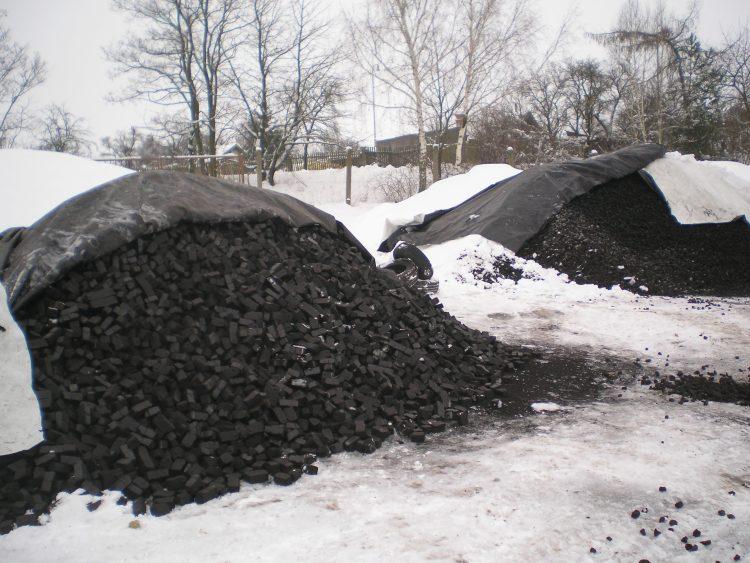 Prodej uhelných briket