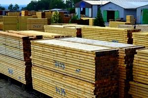 Stavebné a obalové rezivo - veľkoobchodný predaj
