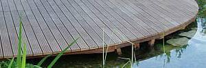 Dřevěné podlahy, dřevěné terasy Prostějov, Olomouc