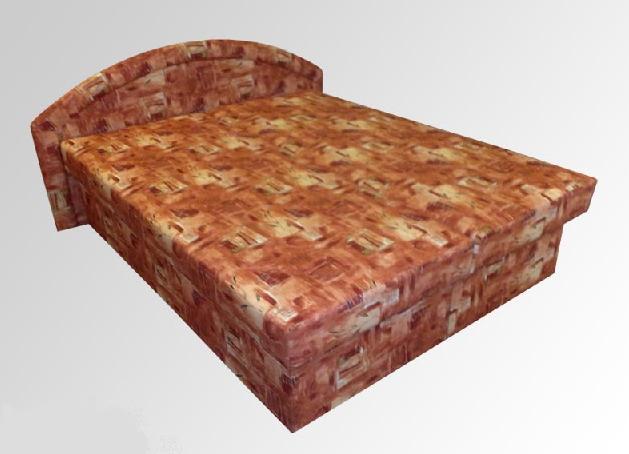 Čalouněné postele v eshopu Kroměříž-manželské, dětské, na míru