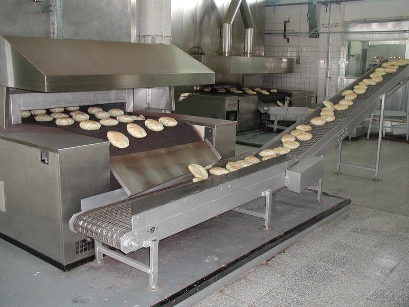 Výrobní linky pro výrobu  pita chleba