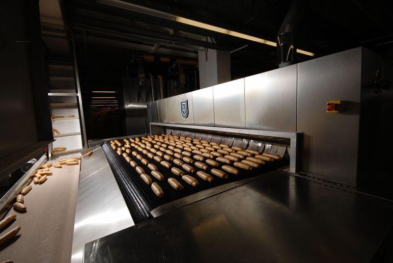 Cyklotermické pekařské pece