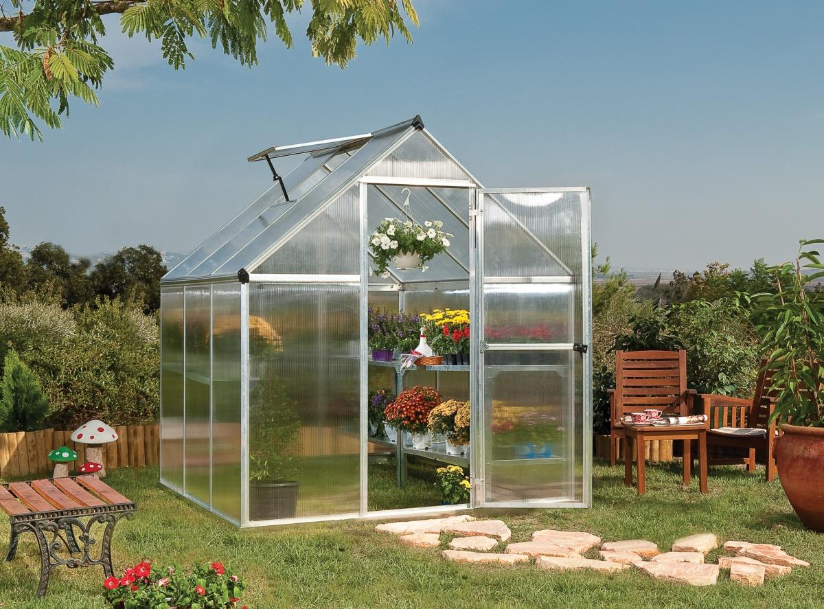 Skleníky PALRAM jsou ozdobou i nezbytností každé zahrady - e-shop