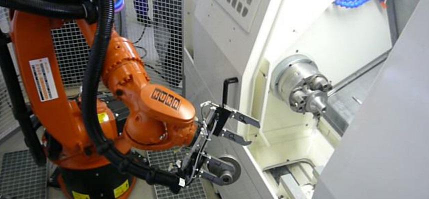 Robotizovaná pracoviště jsou posilou podniku Praha - zvýšení konkurenceschopnosti