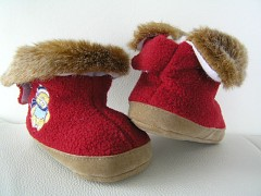 Dětské botičky pro nechodící děti-kojenecké capáčky pro první krůčky