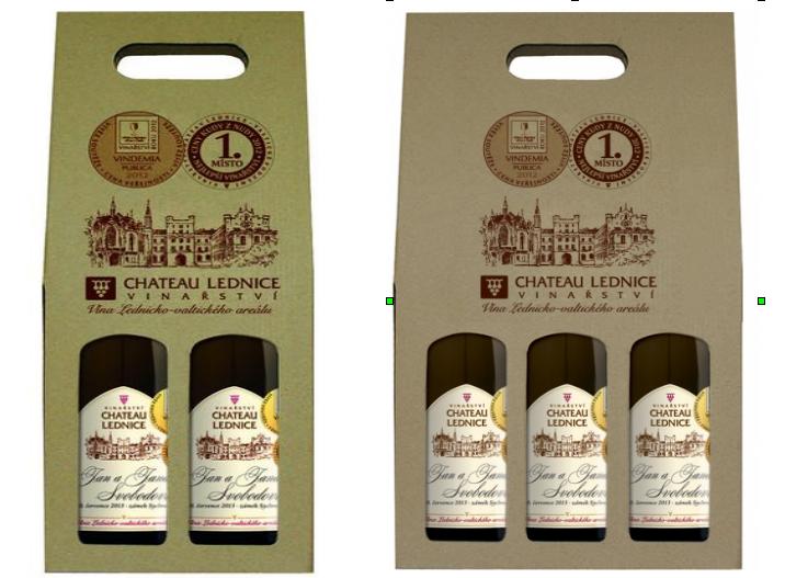 Dárková sada vín z Vinařství LEDNICE ANNOVINO