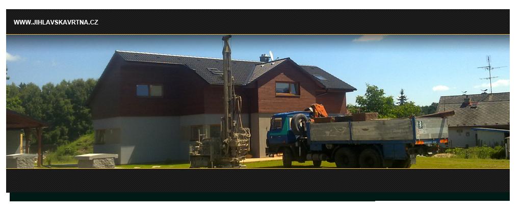 Zajištění vrtání studní a vrtů pro tepelná čerpadla-Vysočina