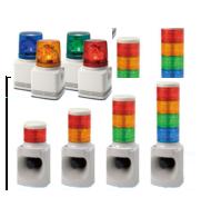 Bezpečnostní signalizace pro průmysl - světelná signalizace, osvětlení pro stroje