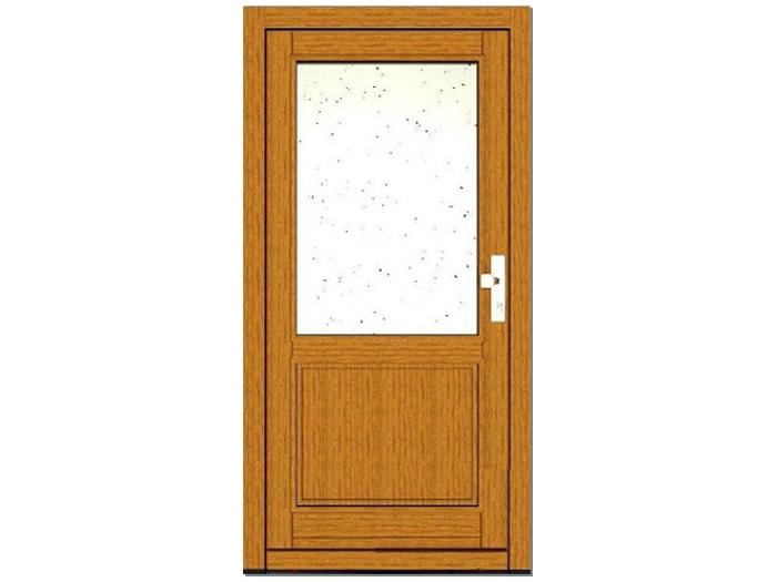 Vchodové prosklené dveře