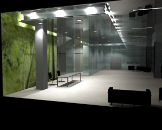 Vizualizace osvětlení a výpočty pro nejlepší konečný efekt, Praha