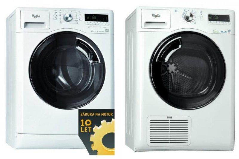 Volně stojící spotřebiče Whirlpool-pračky, sušičky, lednice, myčky