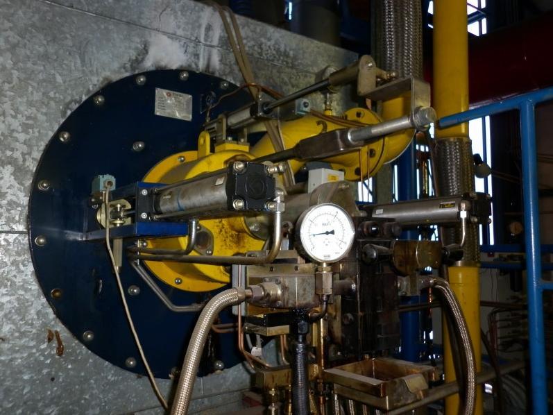 Servis plynových kotlů a hořáků