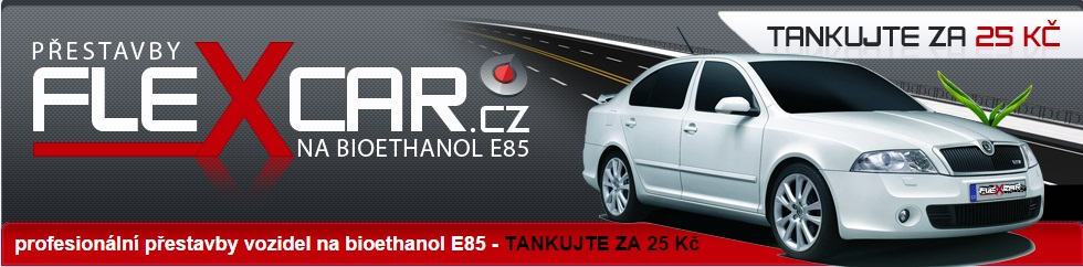 přestavba vozidel na ethanol E85