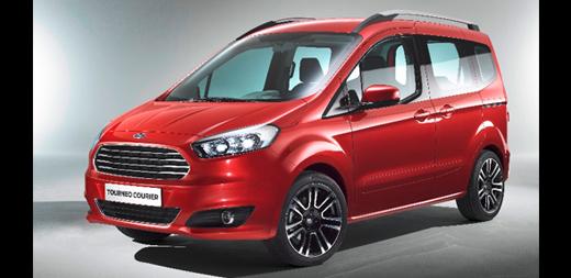 Užitkové vozy Ford Transit, Tourneo Connect, Custom, Courier, Ranger Zlín