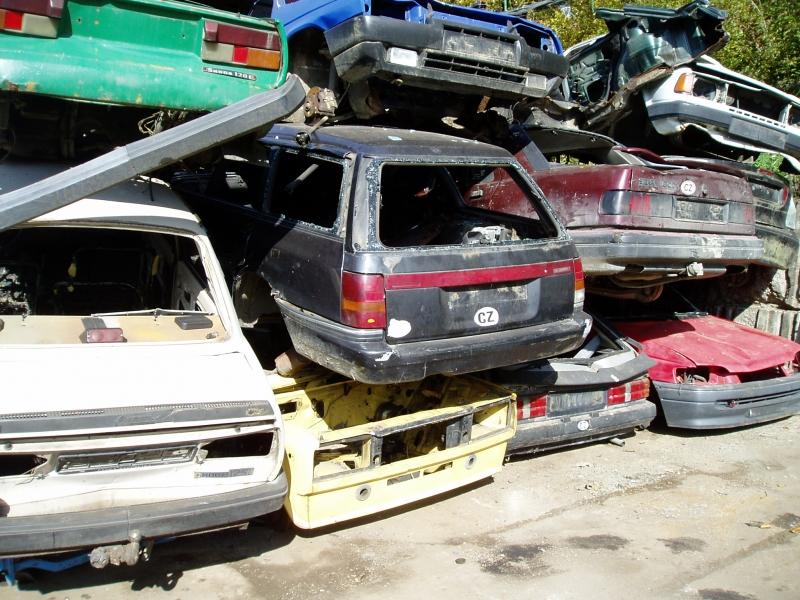 Ekologická likvidace vozidel Vsetín