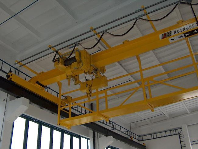 Overhead and portal cranes Zlin Region - engineering, reconstruction, the Czech Republic