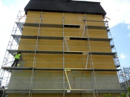 montáž fasádního, Haki lešení Olomouc