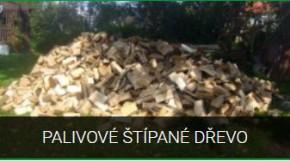 Palivové štípané dřevo