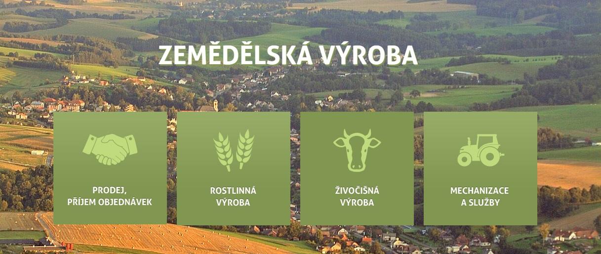Rostlinná a živočišná výroba