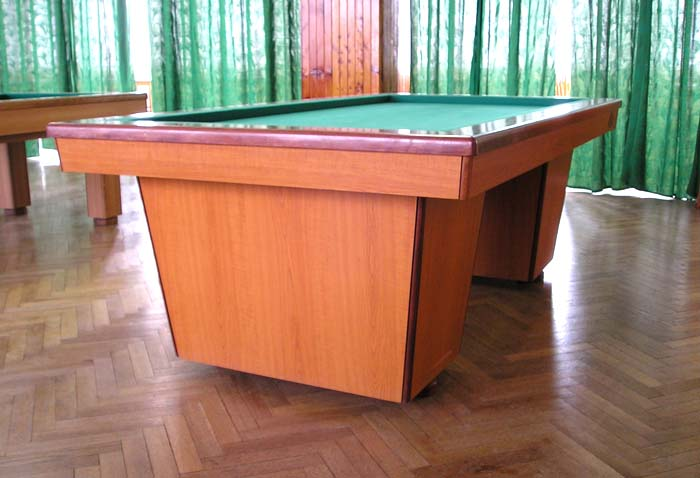 Zakázková výroba kulečníků, kulečníkové stoly