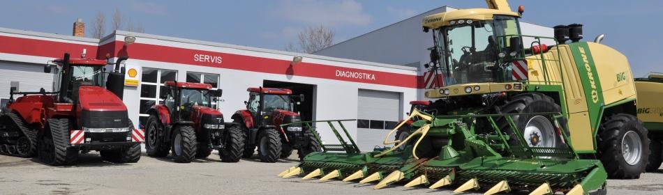Zemědělská technika, zemědělské stroje - prodej a servis