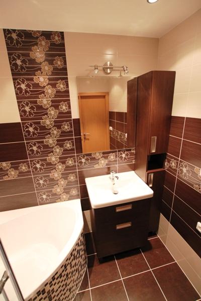 Rekonstrukce bytových jader, koupelen a interiéru