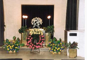 Funeral home of the capital city of Prague is a guide to dignified farewell, the Czech Republic