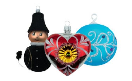 Tradiční české vánoční ozdoby - výroba, prodej, eshop