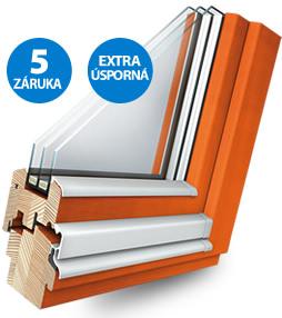 Designová dřevěná okna a dveře na zakázku-Vysočina