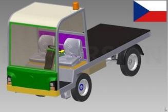 Plošinové vozíky BALKANCAR prodej Litoměřice