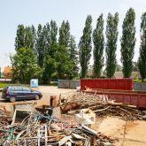 Výkup kovového odpadu, železného šrotu Opava