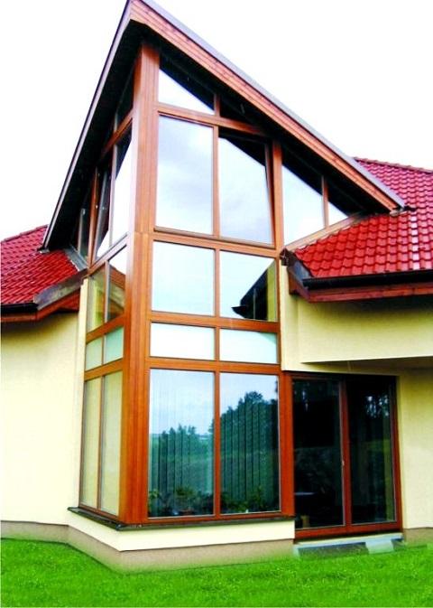 Dřevěná okna do luxusních staveb