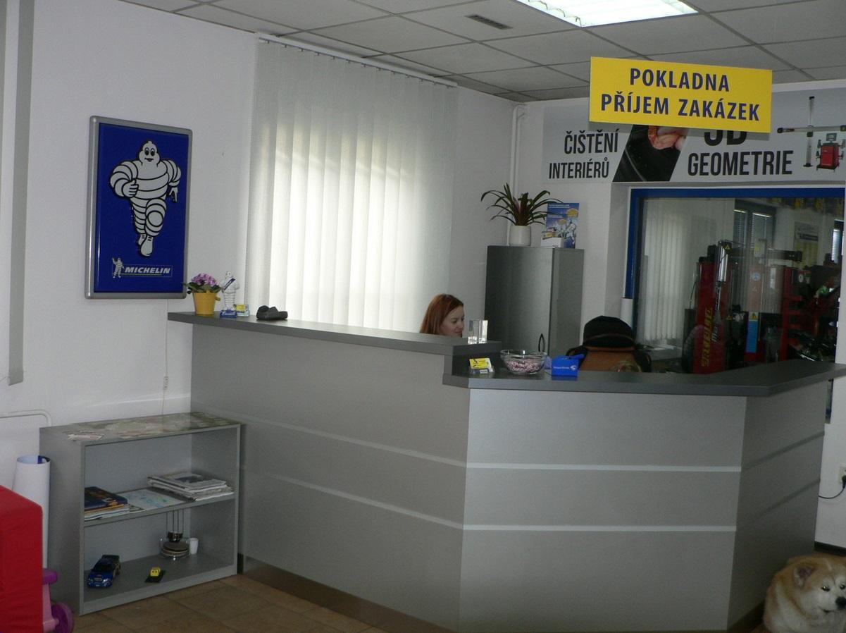 pneuservis pro osobní automobily Břeclav