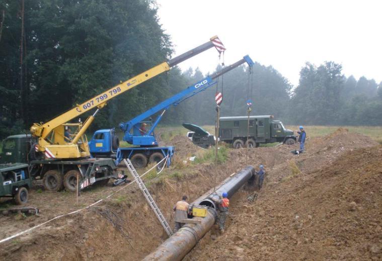 Rekonstrukce ropovodu