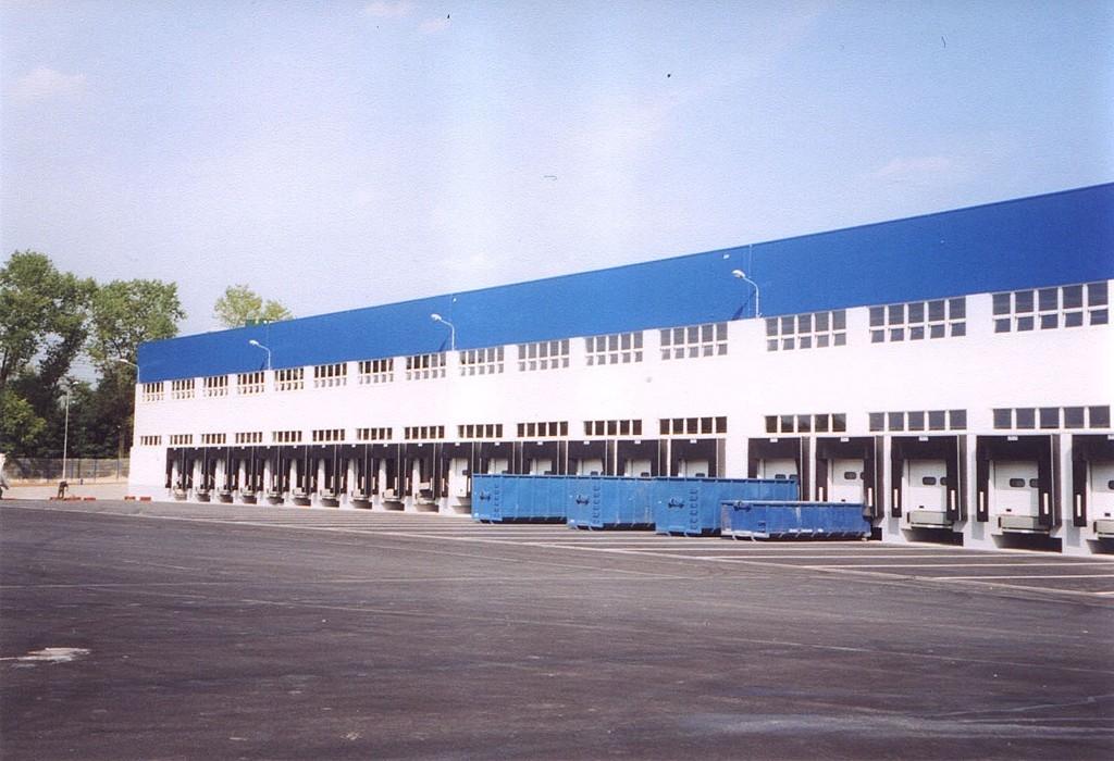 Projekty průmyslových objektů