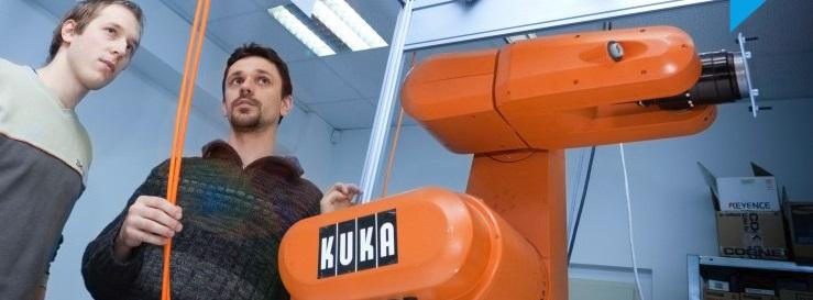 Roboty KUKA pomohou vašemu průmyslovému odvětví Praha