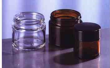 Prodej kelímky z barevného skla, pro farmacii, potraviny, chemii i kosmetiku.