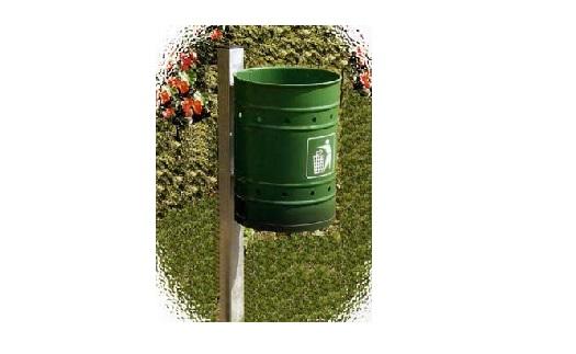 Venkovní odpadkové koše do měst - výroba Zábřeh, Šumperk
