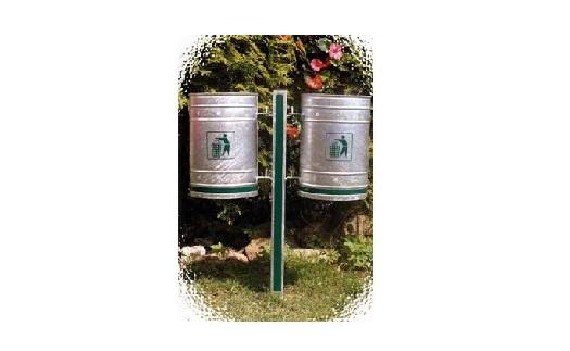Venkovní odpadkové koše do obcí - výroba Zábřeh, Šumperk