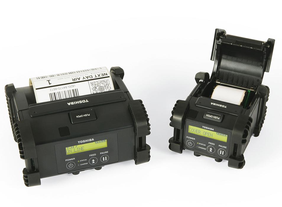 tiskárny Toshiba a další průmyslové tiskárny