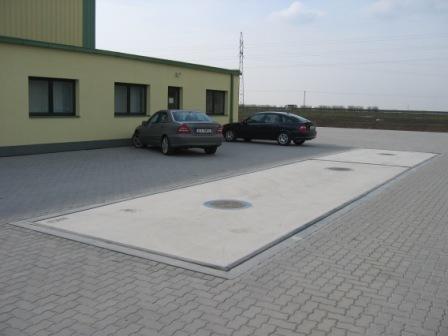 Silniční, automobilové váhy na klíč s provozní spolehlivostí a snadnou údržbou