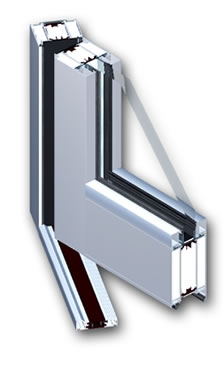 Aluprof system Zlínský kraj-protipožární, požární dveře, okna, stěny