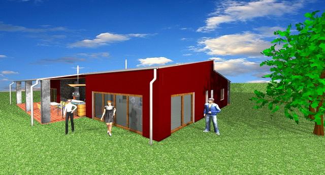 Projekty domů včetně vybavení-návrhy interiérů Brno
